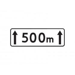 T20 Długość odcinka jezdni na którym zakaz obowiązuje
