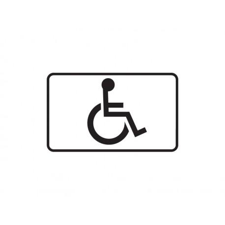 Tabliczka T29 Miejsce dla osoby niepełnosprawnej
