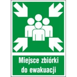 Znak Miejsce Zbiórki do Ewakuacji