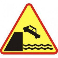 Znak A-27 Nabrzeże lub Brzeg Rzeki