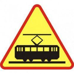 Znak A-21 Tramwaj