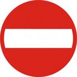 Znak B-2 Zakaz Wjazdu