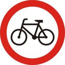 Znak B-9 Zakaz Wjazdu Rowerów