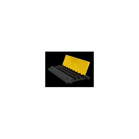Próg Kablowy Czarno-Żółty 3- kanałowy