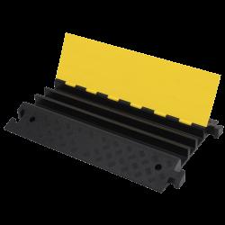 Próg Kablowy Czarno-Żółty 3- kanałowy do 40 ton