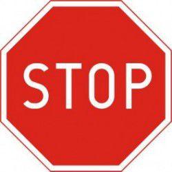 Znak B-20 Stop