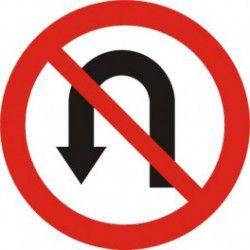Znak B-23 Zakaz Zawracania