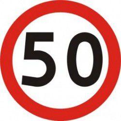Znak B-33 Ograniczenie Prędkości