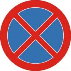 Znak B-36 Zakaz Zatrzymywania Się