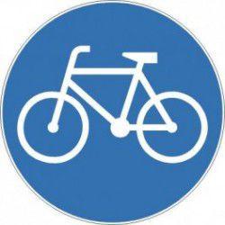 Znak C-13 Doga dla Rowerów