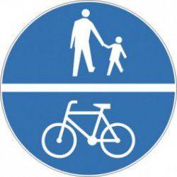 Znak C-13/16 Droga dla Rowerów/ Droga dla Pieszych