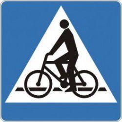 Znak D-6a Przejazd dla Rowerzystów