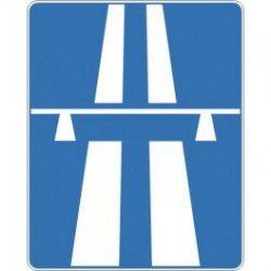Znak D-9 Autostrada