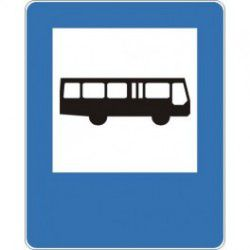 Znak D-15 Przystanek Autobusowy