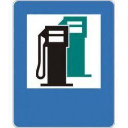 Znak D-23 Stacja Benzynowa