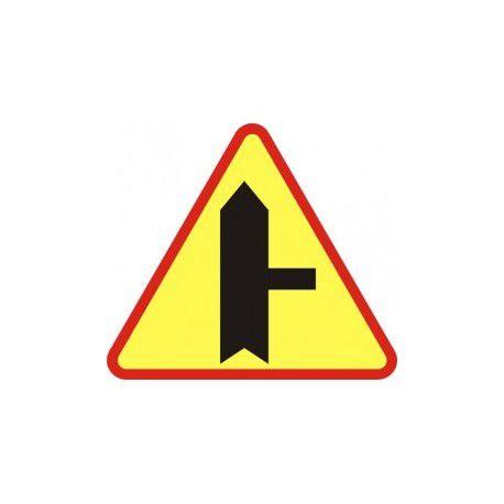 A-6b Znak Skrzyżowanie z drogą podporządkowaną występującą po prawej stronie
