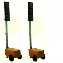 Sygnalizacja Świetlna Wahadłowa Led z minutnikiem