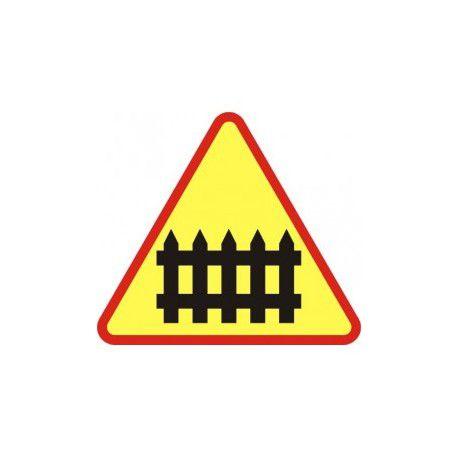 A-9 Znak Przejazd Kolejowy z Zaporami