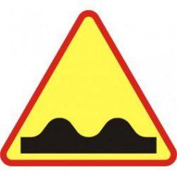 A11 Znak Nierówna Droga