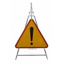 Stojak składany ocynkowany na znak znaki drogowe