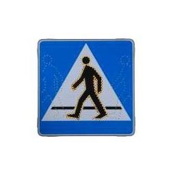 Znak Drogowy D6 Animowany Led Aktywny Świecący