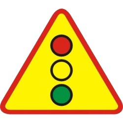 Znak A-28 Sygnalizacja Świetlna