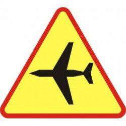 Znak A-26 Lotnisko