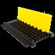 Próg Kablowy Czarno-Żółty 5 Kanałowy