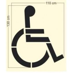 Szablon malarski P-24 Miejsce dla osoby niepełnosprawnej