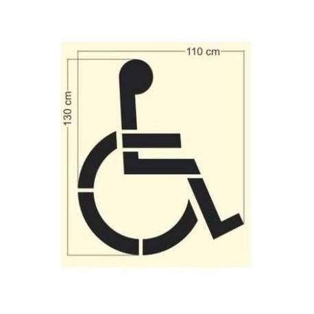 Szablon P-24 Miejsce dla osoby niepełnosprawnej