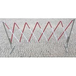 Barierka Rozkładana Metalowa Harmonijkowa