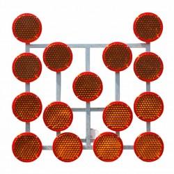 Strzała Led Roboty Drogowe Stelaż 13 lamp