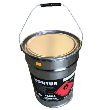 Farba drogowa do betonu posadzki Brązowa 15kg