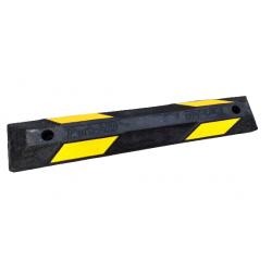 Separator Parkingowy Odbojnik Drogowy 90cm z żółymi odblaskami