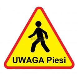 Znak Uwaga Wózki Widłowe