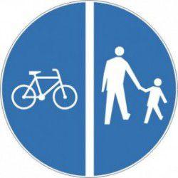 Znak C-13/16n Droga dla Rowerów/ Droga dla Pieszych