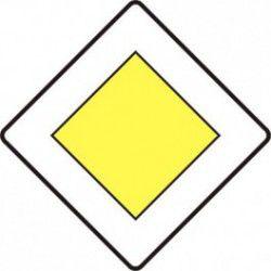 Znak D-1 Droga z Pierwszeństwem