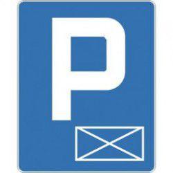 Znak D-18a Parking Miejsce Zastrzeżone (Koperta)
