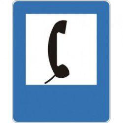 Znak D-24 Telefon