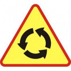 A-8 Znak Skrzyżowanie o Ruchu Okrężnym