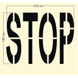 Szablon Stop